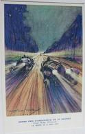 Carte Postale Grand Prix D'endurance Des 24 Heures Du Mans Coupe Rudge Whitworth Mutuelle Du Mans Care Publicitaire - Le Mans