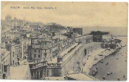 CPA MALTE - MALTA - VALLETTA - Birds Eye View - Malte