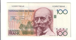 Belgio Belgium  100 Francs 1978-1981 Pick#140a Fds Lotto 2494 - Altri