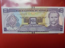 HONDURAS 2 LEMPIRAS 2012 PEU CIRCULER/NEUF - Honduras