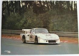 Carte Postale Voiture 44 Porsche Dick Lovett Course Auto Des 24 Heures Du Mans 1991 - Le Mans