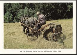 46 - FIGEAC - M. Pégourié Râtelle Son Foin - 1988 - Figeac