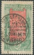 Oubangui-Chari-Tchad - Fort-Archambault / Congo Français Sur N° 61 (YT) N° 58 (AM). Oblitération. - Oblitérés