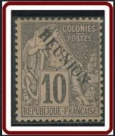 Réunion 1859-1891 - N° 21 (YT) N° 21 (AM) Neuf *. - Réunion (1852-1975)