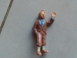 FIGURINE TINTIN  8 CM HERGE  BULLY - Tintin