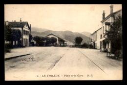 88 - LE THILLOT - PLACE DE LA GARE - Le Thillot