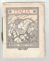 CALENDARIO LIBRETTO  PALESTRA GINNASTICA FERRARA 1917  FERRUCCIO LUPPIS - Calendriers