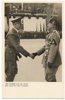 Le Führer Et Le Duce - Propagande   - WWII - Personnages
