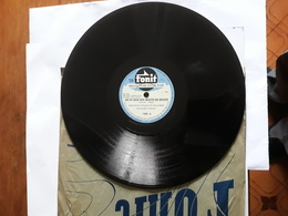 Fonit - Anni '50.  Serie  1986 . Kirk Douglas  &  The Mellomen - 78 Rpm - Schellackplatten