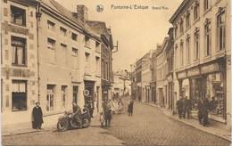 Fontaine-l'Evêque NA76: Grand'Rue 1942 - Fontaine-l'Evêque