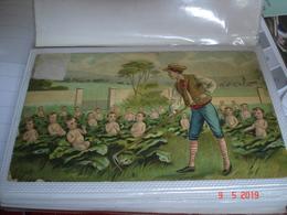 MINI ALBUM CONTENANT CARTES POSTALES ANCIENNES DE SOUHAITS - Cartes Postales