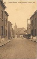 Fontaine-l'Evêque NA77: Rue De L'Enseignement. Eglise St Vaast - Fontaine-l'Evêque