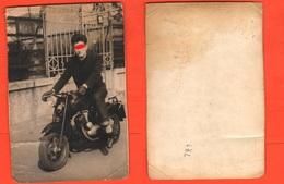 ISO Moto Isomoto Bicilindrica 125 Motorbikes Motos Motor Photo 50's  Trasporti - Motos