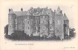[37] Indre Et Loire > Le Château De LUYNES - Cpa DOS SIMPLE Collection ND Phot  N° 31 *PRIX FIXE - Luynes