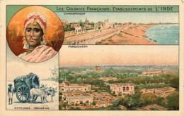 Inde - Les Colonies Françaises - Etablissement De L' Inde - Inde