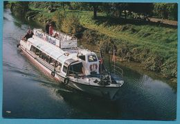 SASBACH A. KAISERSTUHL - Fahrgastschiff IRENE  - Baujahr 1963 - Sasbach