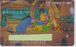 TARJETA DE BANCO DE CHINA DE WINNIE POOH  (CREDITCARD-BANK-VISA) DISNEY - Phonecards