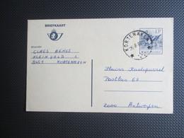 PWS Nr 196 III (F) - Verstuurd Uit Kortenaken (sterstempel) - Entiers Postaux