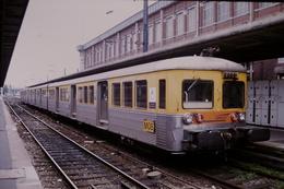 Photo Diapo Diapositive Slide Train Wagon Loco Locomotive Rame TER SNCF Nord Pas De Calais Le 06/08/2000 VOIR ZOOM - Dias
