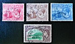 EMISSIONS 1922/53 - OBLITERES - YT 111/12+ 114 + 161 - Trinité & Tobago (1962-...)