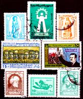 Siria-00110 - Valori Del 1973-76 (o) Used - Senza Difetti Occulti. - Siria