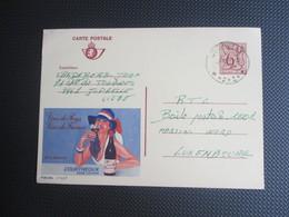 Publibel Nr 2738 F - Verstuurd Uit Juprelle ( Sterstempel) - Enteros Postales