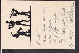 Postkarte Pfadfinder / Wandervögel ( Zug München ) Weissenburg Bayern  1931 - Pfadfinder-Bewegung