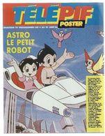 Télé Pif Poster Astro Le Petit Robot - Poster  La Chanteuse Jeanne Mas - Fernsehen