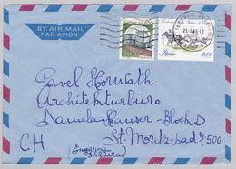 Brief In Die Schweiz (br5858) - 6. 1946-.. Repubblica