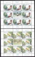 Serbia 2019 Europa CEPT National Birds Fauna Wallcreeper Squacco Heron Mini Sheet MNH - 2019