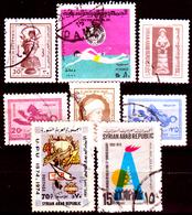 Siria-00112 - Valori Del 1974-76 (o) Used - Senza Difetti Occulti. - Siria