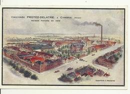 59 - CAMBRAI / USINE CHICOREE PROTEZ DELATRE - Cambrai