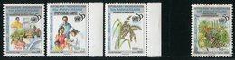 """MADAGASCAR  1995  MNH   """" 50eme ANNIVERSAIRE NATIONS UNIS / SÉCURITÉ ALIMENTAIRE """" -  3 VAL - Madagascar (1960-...)"""