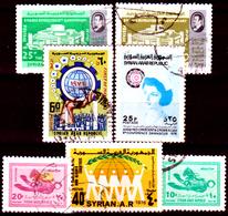 Siria-00113 - Valori Del 1974-76 (o) Used - Senza Difetti Occulti. - Siria