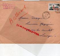 87-MARVAL- RARE ENVELOPPE B. DE ROMEFORT DANCING MOULIN BLANC ETANG DE BALLERAND- 1964 - Autres