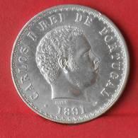 PORTUGAL 500 REIS 1891 - 12,5 GRS - 0,917 SILVER   KM# 535 - (Nº28675) - Portugal