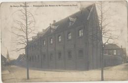 Fotokaart CPA St. - Denys - Westrem. Sint - Denijs - Westrem Pensionnat Des Soeurs De Vincent De Paul.1912. - Gent
