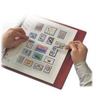 SAFE Dual Vordruckblätter Andorra Frz. Post 2004-2012 - Albums & Binders