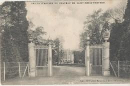 Postkaart CPA Saint - Denis - Westrem. Sint - Denijs - Westrem Grille D'entrée Du Chateau. 1911. - Gent