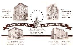 Etats Unis - Washington - Capitol Hotel Enterprises - Etats-Unis