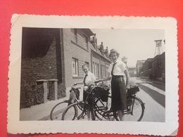 Foto 2.WK WW2  Mädchen Girls BDM Uniform Fahrrad HJ Gebietsdteieck Old Picture Alt - 1939-45