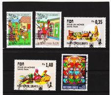 SRO443 UNO GENF 1987 MICHL 160/64 Gestempelt Siehe ABBILDUNG - Genf - Büro Der Vereinten Nationen