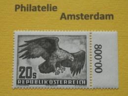 Austria 1952, FAUNA BIRDS EAGLE AREND: Mi 968, ** - Adler & Greifvögel