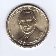 Stati Uniti 2014 - 1 Dollaro Harding - Zecca P - 2007-…: Presidents
