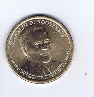 Stati Uniti 2014 - 1 Dollaro F. D. Roosevelt - Zecca P - 2007-…: Presidents