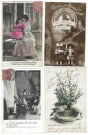 Fantaisie - Lot De 84 CPA - Variées - Cartes Postales
