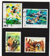 SRO445 UNO GENF 1988 MICHL 167/70 Gestempelt Siehe ABBILDUNG - Genf - Büro Der Vereinten Nationen