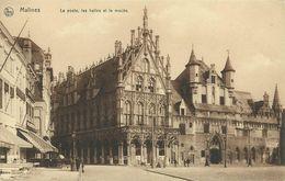 AK / CPA Malines Mecheln Machelen Poste Halles & Musée ~1915 #04 - Machelen