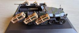 SD.Kfz.251/1 Ausf. C Wurfrahmen 40 - 24.Pz Div. Kursk (USSR) - 1942 - Chars
