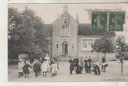 CHATEL GERARD - La Mairie - Enfants Et Institutrice - France